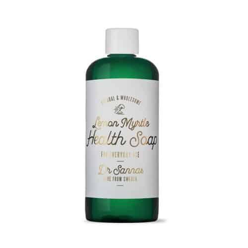 Hälso Såpa – Lemon Myrtle Reseflaska