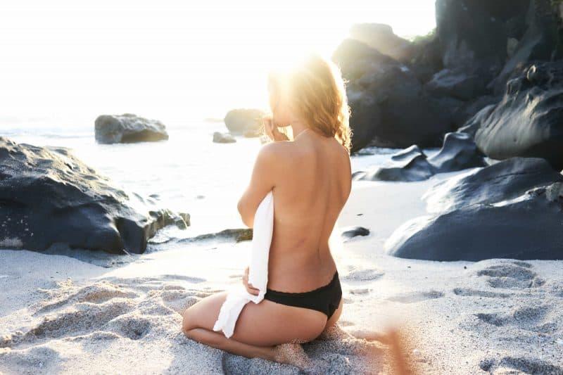 skydda huden - sol