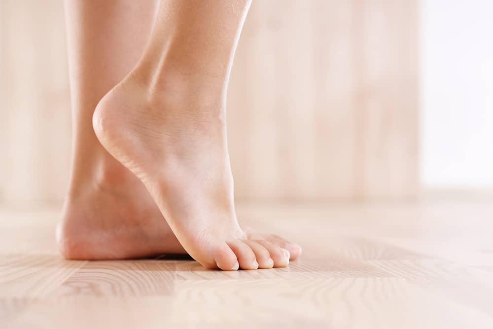 pimpsten för fötter