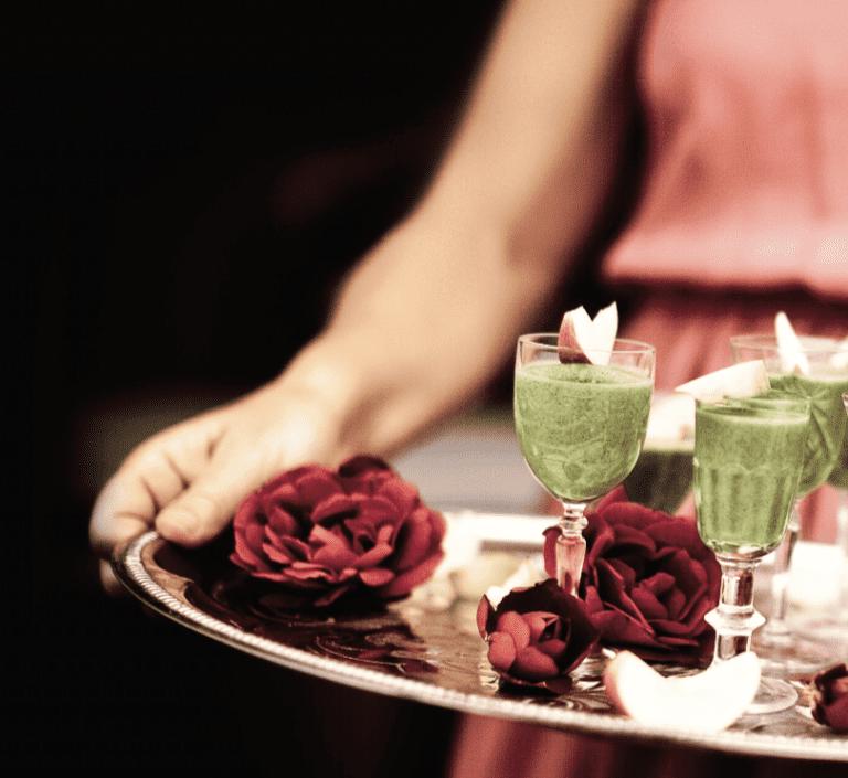 Grön Smoothie med Grönkål & Moring - superenkelt