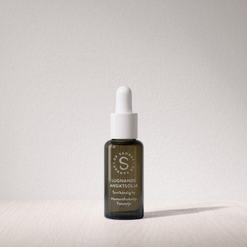 Lugnande Ansiktsolja för Torr/Känslig hy – Bäst i Test