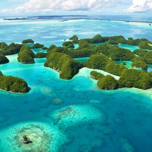 Palau förbjuder solskydd