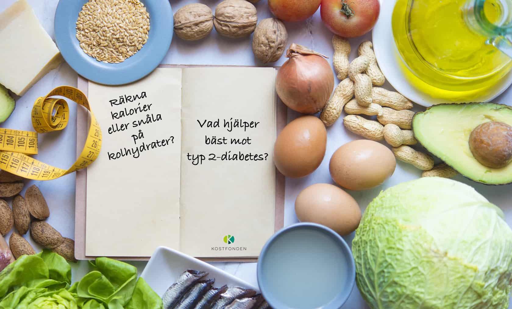 Kostfonden: Europas största studie av kost vid typ 2-diabetes