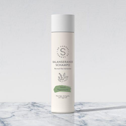 Balanserande schampo för normal/fet hårbotten