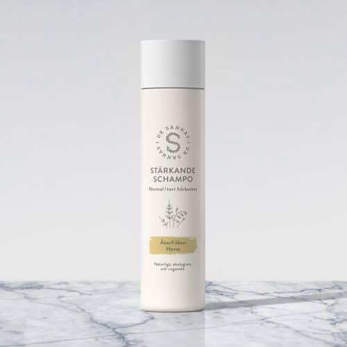 Stärkande schampo för normal/torr hårbotten