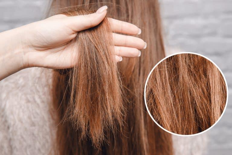 livlöst hår