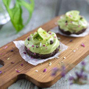 Dr Sannas Raw Lime Cheesecake med Choklad – Recept
